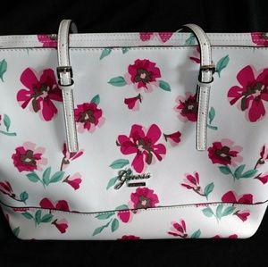 Spring floral Guess tote bag